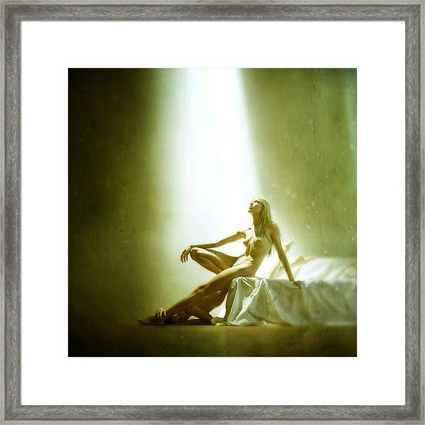 ---solar Eclipse--- Framed Print