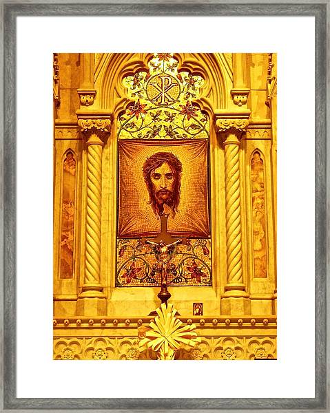 St. Patrick Nyc  Altar Framed Print