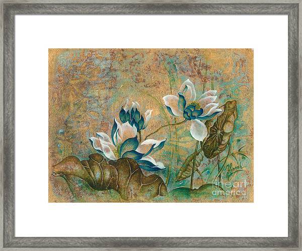 The Turquoise Incarnation Framed Print
