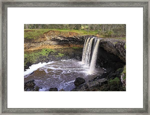 Wannon Falls Framed Print