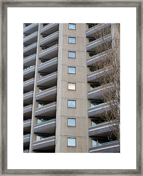 00010000 Housing Framed Print