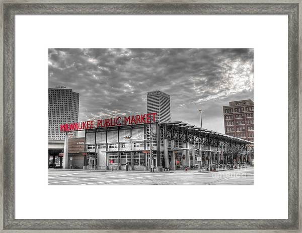 0038 Milwaukee Public Market Framed Print