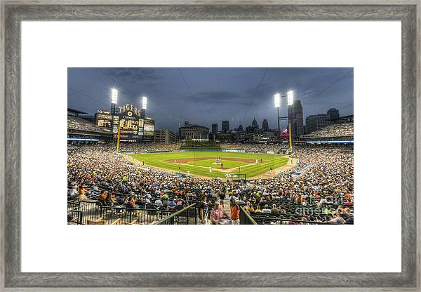 0101 Comerica Park - Detroit Michigan Framed Print