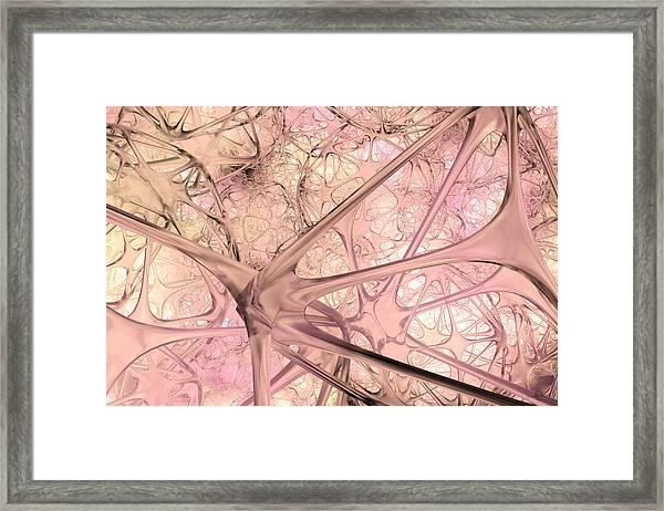 012315 Framed Print