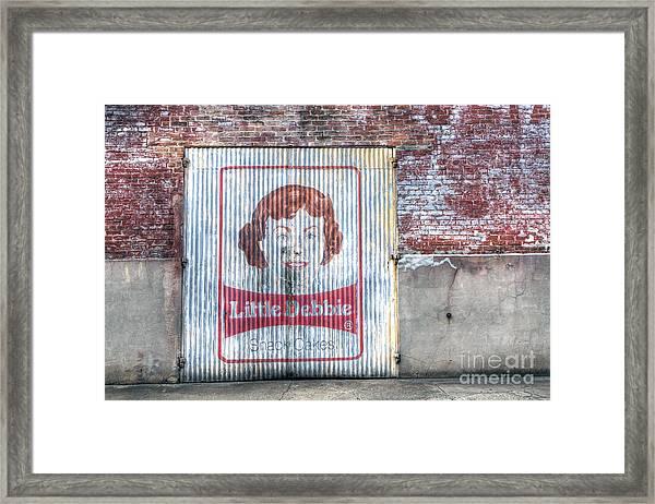 0256 Little Debbie - New Orleans Framed Print