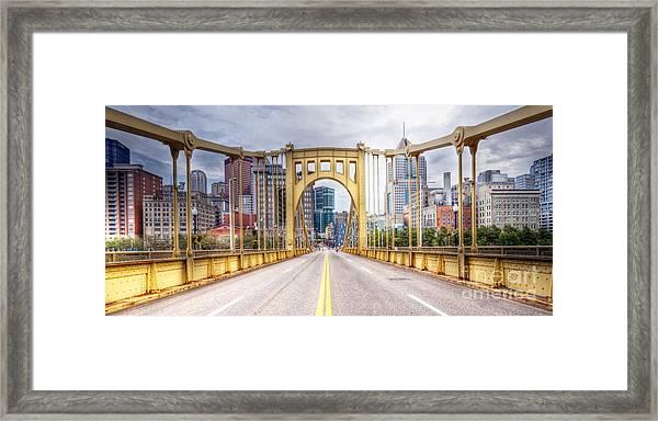 0305  Pittsburgh 10 Framed Print