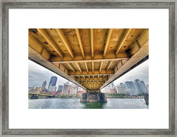 0309 Pittsburgh 4 Framed Print