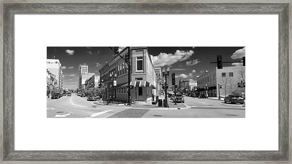 0465 Elgin Illinois Panoramic Framed Print