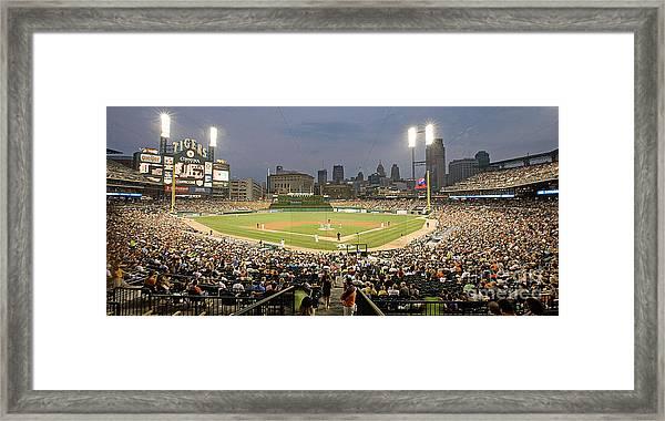 0555 Comerica Park Detroit Framed Print