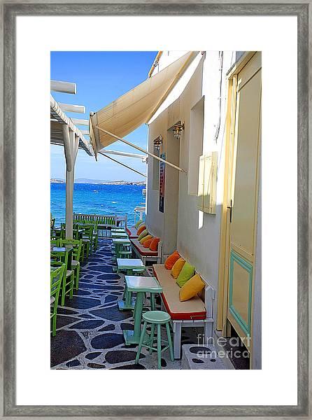0560 Mykonos Greece Framed Print