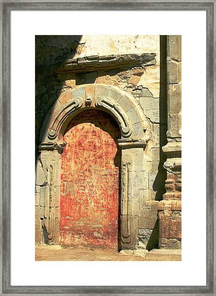0584 San Juan Capistrano Mission Framed Print