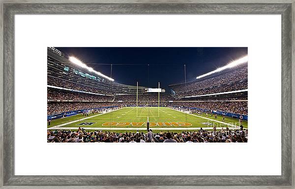 0587 Soldier Field Chicago Framed Print