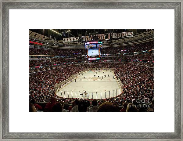 0616 The United Center - Chicago Framed Print