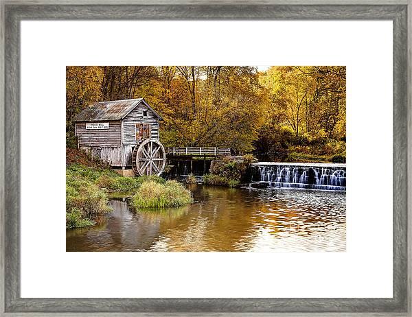 0722 Hyde's Mill Framed Print