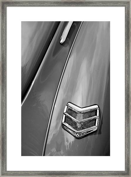 1940 Ford Deluxe Coupe Taillight Framed Print