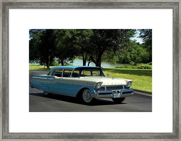 1957 Mercury Monterey Framed Print