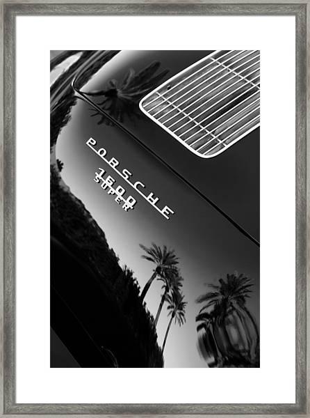 1959 Porsche 356 A 1600 Convertible D Rear Emblem Framed Print