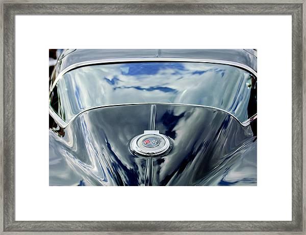 1967 Chevrolet Corvette Rear Emblem Framed Print