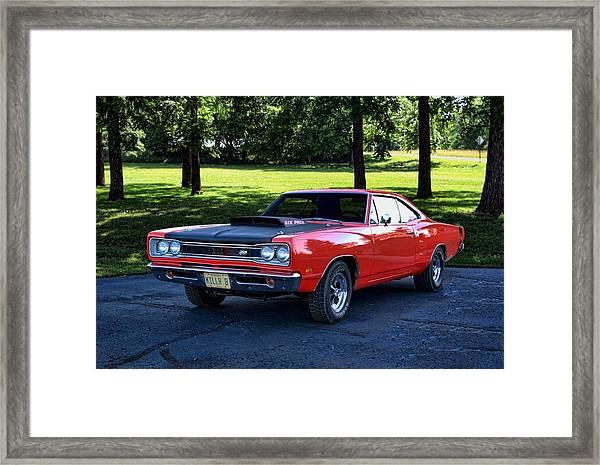 1969 Dodge Super Bee Framed Print