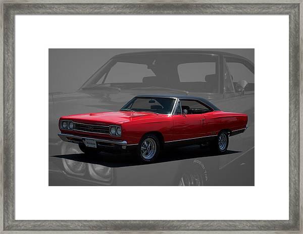 1969 Plymouth Gtx 440 Magnum Framed Print
