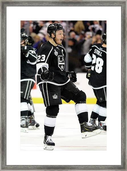 2014 Nhl Stanley Cup Final - Game Two Framed Print