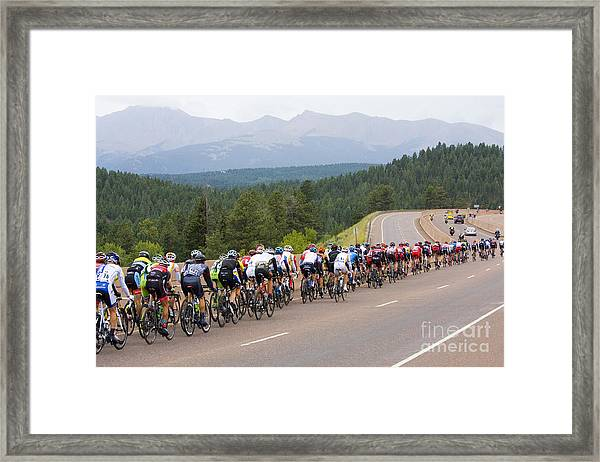 2014 Usa Pro Cycling Challenge Framed Print