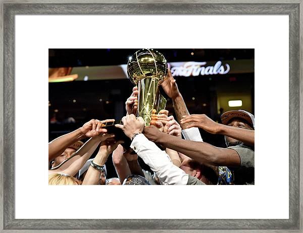 2015 Nba Finals - Game Six Framed Print