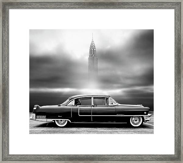 A Crack In The World Framed Print