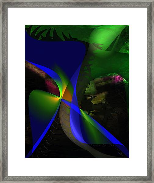 A Dream Framed Print