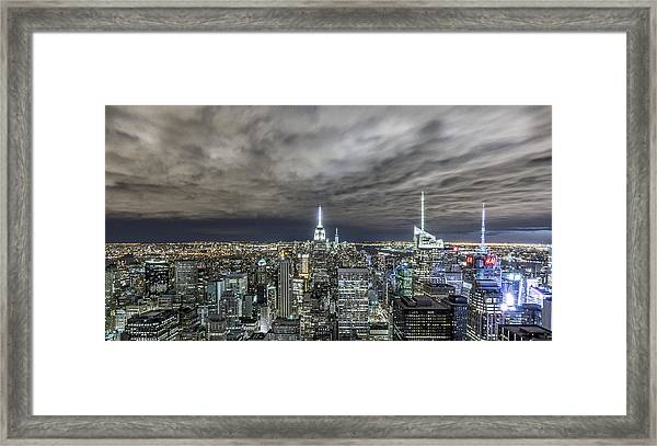 A Night In Nyc Framed Print