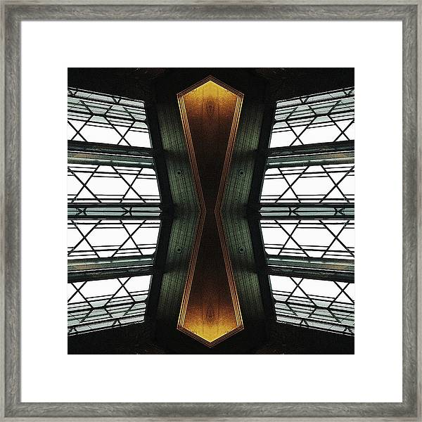 Abstract Empire Deco Framed Print