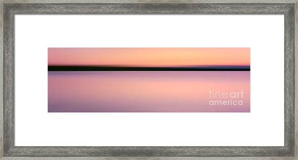 Abstract Sunset 2 Framed Print