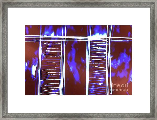 Abstrait 2 Framed Print