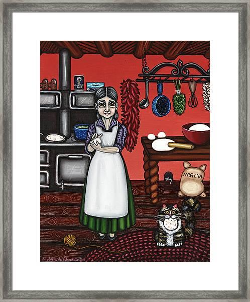 Abuelita Or Grandma Framed Print