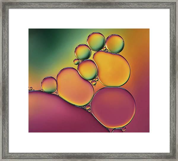 Acrobats Framed Print