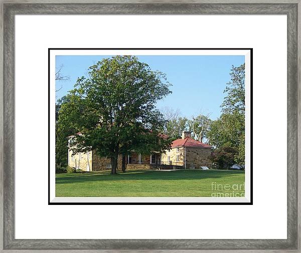 Adena Mansion Framed Print