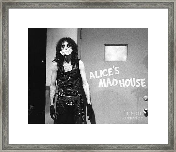 Alice Cooper 1979 Framed Print
