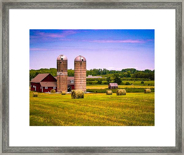 All In A Day's Work Framed Print
