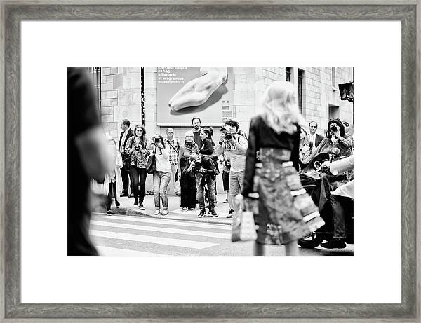 Alternative View - Haute Couture Paris Framed Print