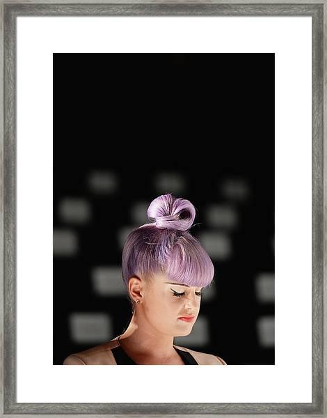 An Alternative View - Mercedes-benz Framed Print by Andrew H. Walker