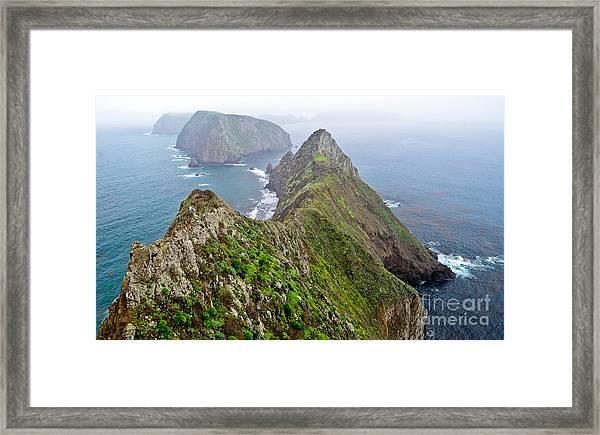 Anacapa Panorama Framed Print