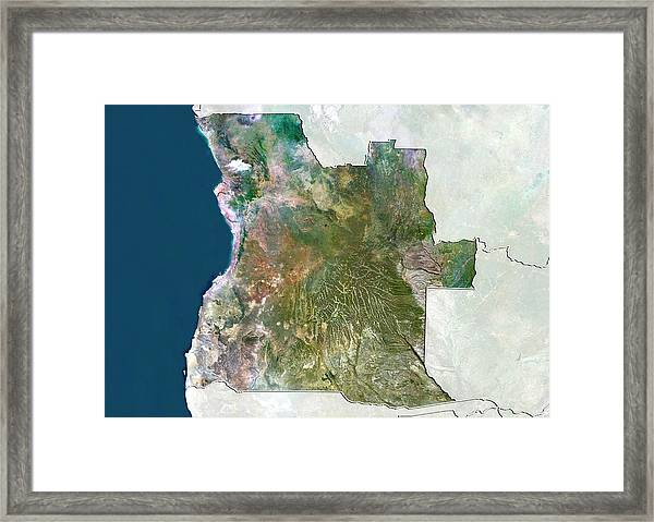 Angola Framed Print