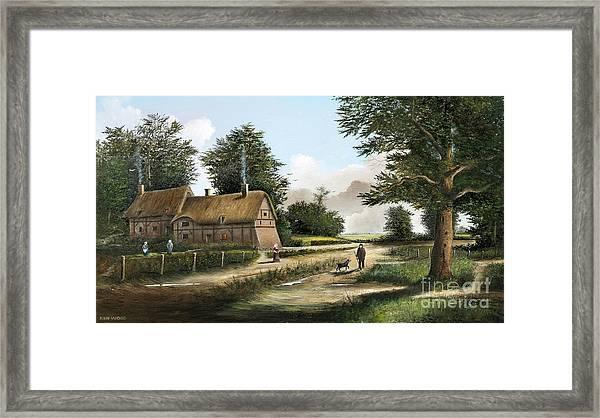 Anne Hathaway's Cottage Framed Print