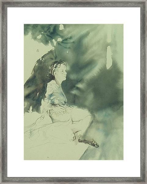 Annunciation Framed Print by Chae Min Shim