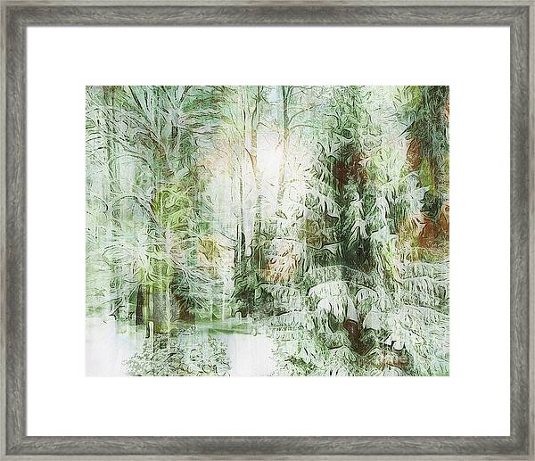 As The Sun Sets Framed Print