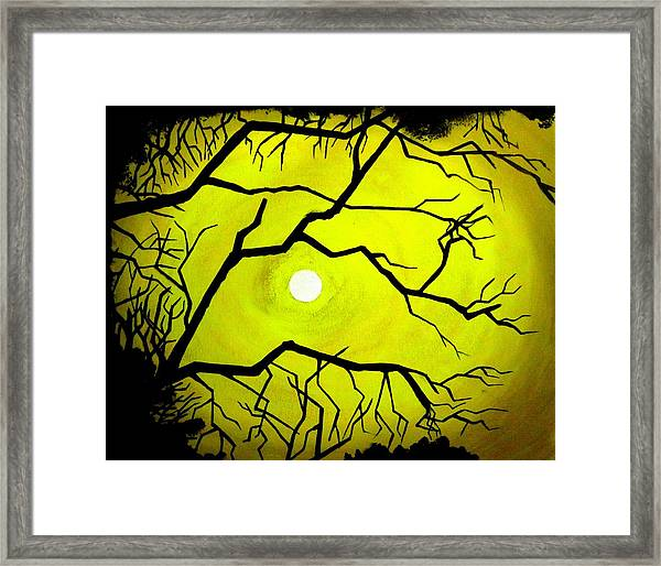 Badsun Framed Print