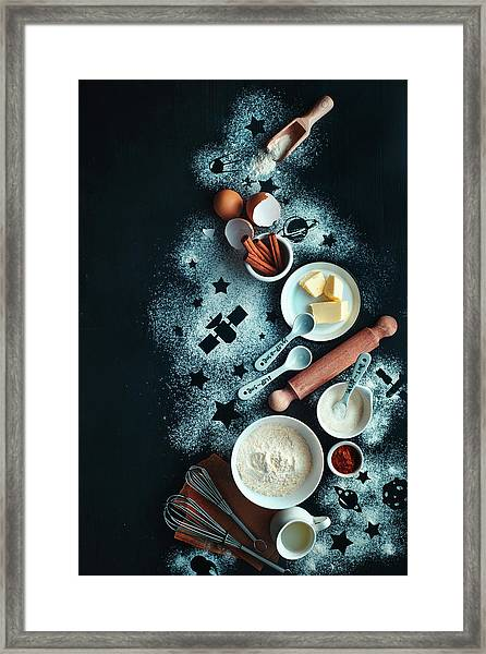 Baking For Stargazers Framed Print by Dina Belenko