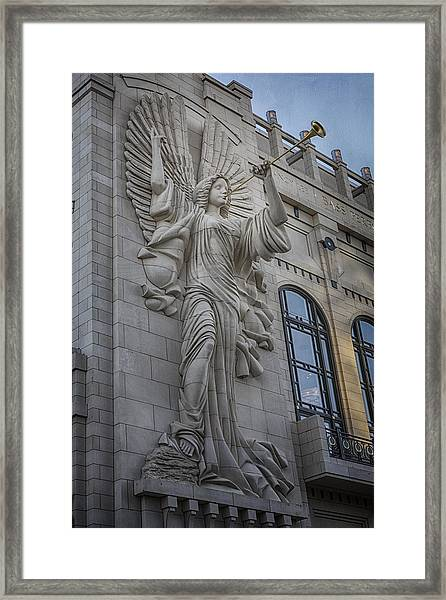 Bass Hall Angel Framed Print