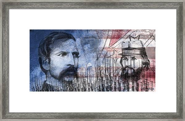 Battle Of Gettysburg Tribute Day Two Framed Print