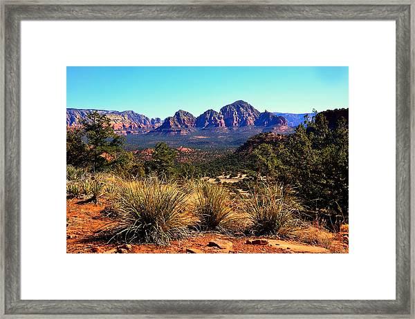 Bear Mountain Trail Framed Print